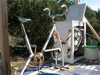la bicilavatrice e l'energia pulita